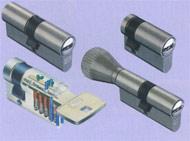 Cylindre européen système IX6 à bille