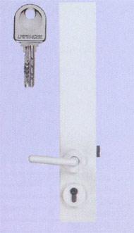 Serrure carénée Laperche série 2003