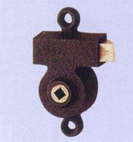 Serrure Metalux Gollot 6100 monopoint applique