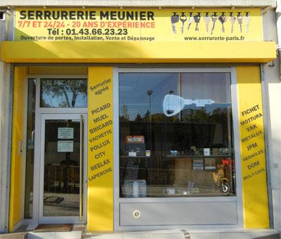 Serrurerie Meunier - Serrurier Paris
