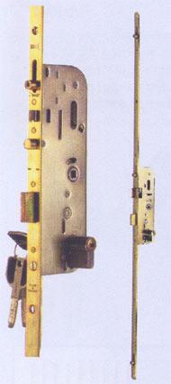 Serrure Vachette multipoints série 10000 automatique à larder